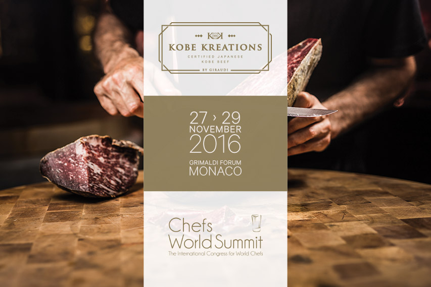 Kobe Kreations at the Chef's World Summit